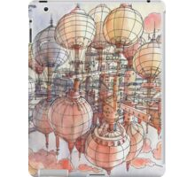 The flying village! iPad Case/Skin
