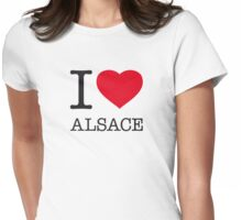 I ♥ ALSACE Womens Fitted T-Shirt