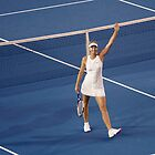 Tennis Star Maria Sharapova by Peter  Downing