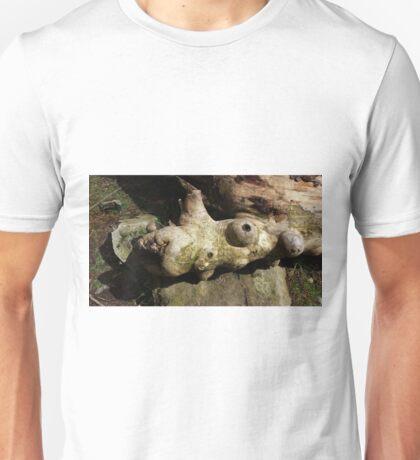 Nobbly wood Unisex T-Shirt