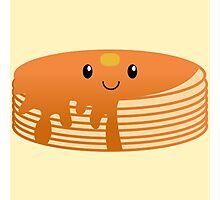 Kawaii Pancake Photographic Print