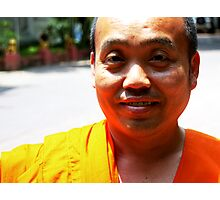 Buddhist Monk, Chiang Mai,  Thailand Photographic Print