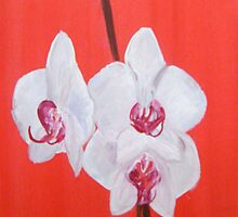 Joyous Flowers - Original Paintings by Susan Hill by Shoshonan