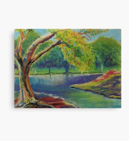 Irvine Park Lake  Canvas Print