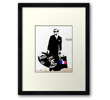 Blek Le Rat  Framed Print