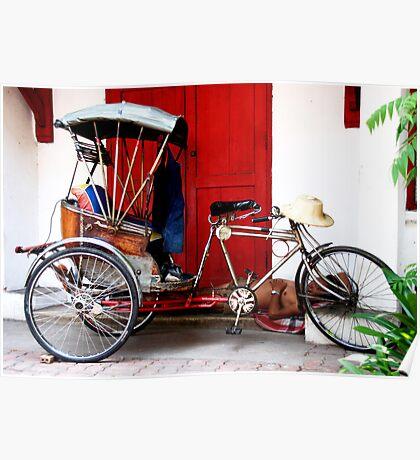 Pedicab, Chiang Mai, Thailand Poster