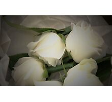 bridal flowers Photographic Print