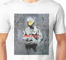 Banksy Smile Cop  Unisex T-Shirt
