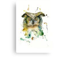 Ivan the Owl Canvas Print