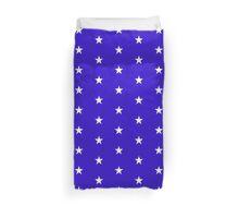 Wonder Stars on Blue Duvet Cover