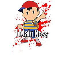 I Main Ness - Super Smash Bros. Photographic Print