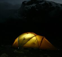 Cold Night on Kilimanjaro by Huw Lambert