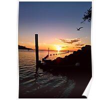 Sunset Scenes I Poster