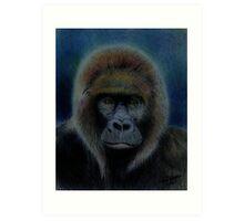 Mighty Gorilla Art Print