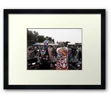 Watching Over the Bikers Framed Print