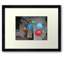 Birthday guest Framed Print