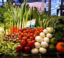 Vegetables, Chiang Mai, Thailand by JonathaninBali