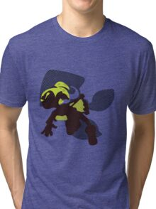 Light Green Male Inkling - Splatoon Tri-blend T-Shirt