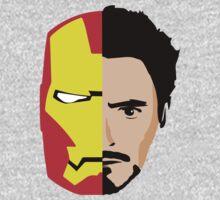 Iron Man Tony Stark Face by Thomas Shaw