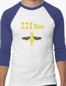 221Bee Men's Baseball ¾ T-Shirt