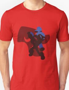 Dark Blue Male Inkling - Sunset Shores T-Shirt