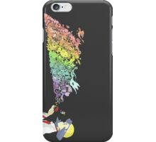 pokemon art anime shirt iPhone Case/Skin