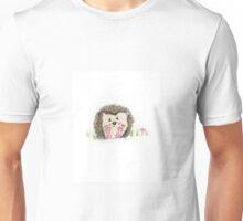 Cutesy Hedgehog Unisex T-Shirt