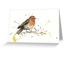 Red, red robin Greeting Card