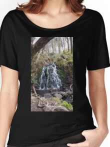 Water Fall Beauty Nature Women's Relaxed Fit T-Shirt