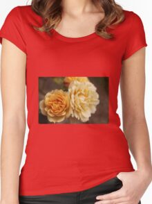 Peach delight Women's Fitted Scoop T-Shirt