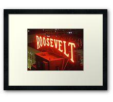 Roosevelt Framed Print