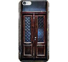 The Old Brown Door Fine Art Print iPhone Case/Skin