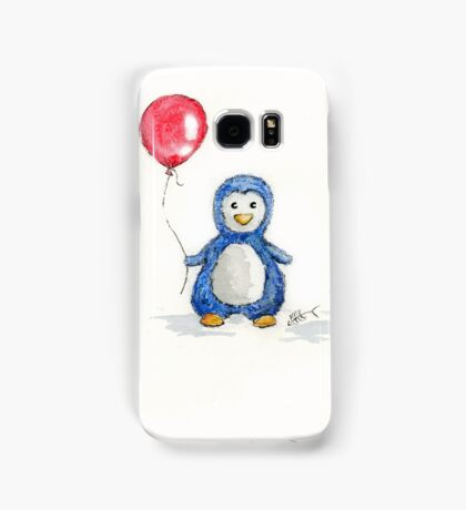 Puddle penguin Samsung Galaxy Case/Skin