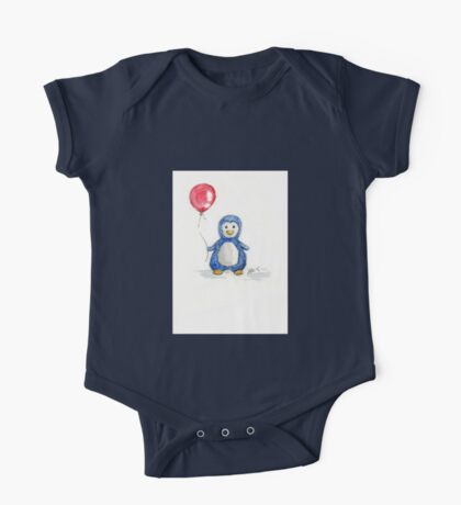 Puddle penguin One Piece - Short Sleeve