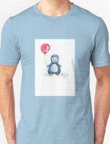 Puddle penguin Unisex T-Shirt