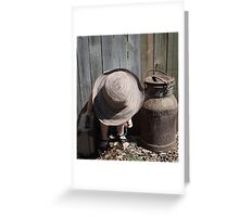 """Doin the Chores"" Greeting Card"