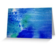 Oceans of Blue Greeting Card