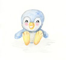 Sweet filo penguin by PuddlePaints
