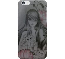 cat love iPhone Case/Skin