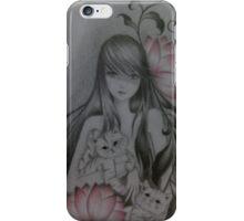cat love iPhone Case/Skin