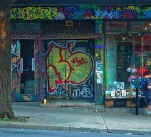 Montreal Book Store by Bob  Perkoski