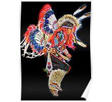 Yakima Nation Dancer ~ Poster