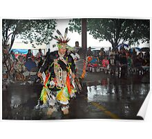 Dance Contestant (Pow Wow Series) Poster