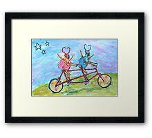 Doctor and Mrs Love Bug Framed Print
