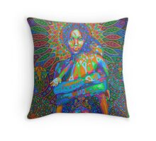 Motherhood digital - 2015 Throw Pillow