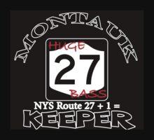 Striped Bass fishing Montauk New york T-Shirt