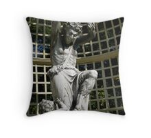... and the besotted satyr danced...(in homage to Joak) Throw Pillow
