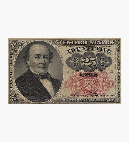 Twenty Five Cent Bill Photographic Print