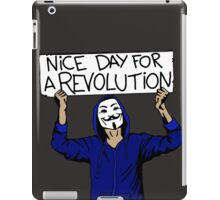 Nice Day for a Revolution iPad Case/Skin