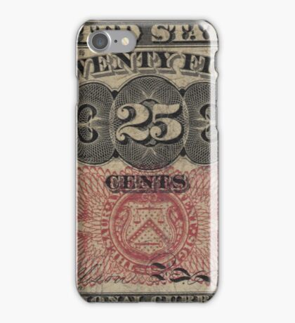 Twenty Five Cent Bill iPhone Case/Skin